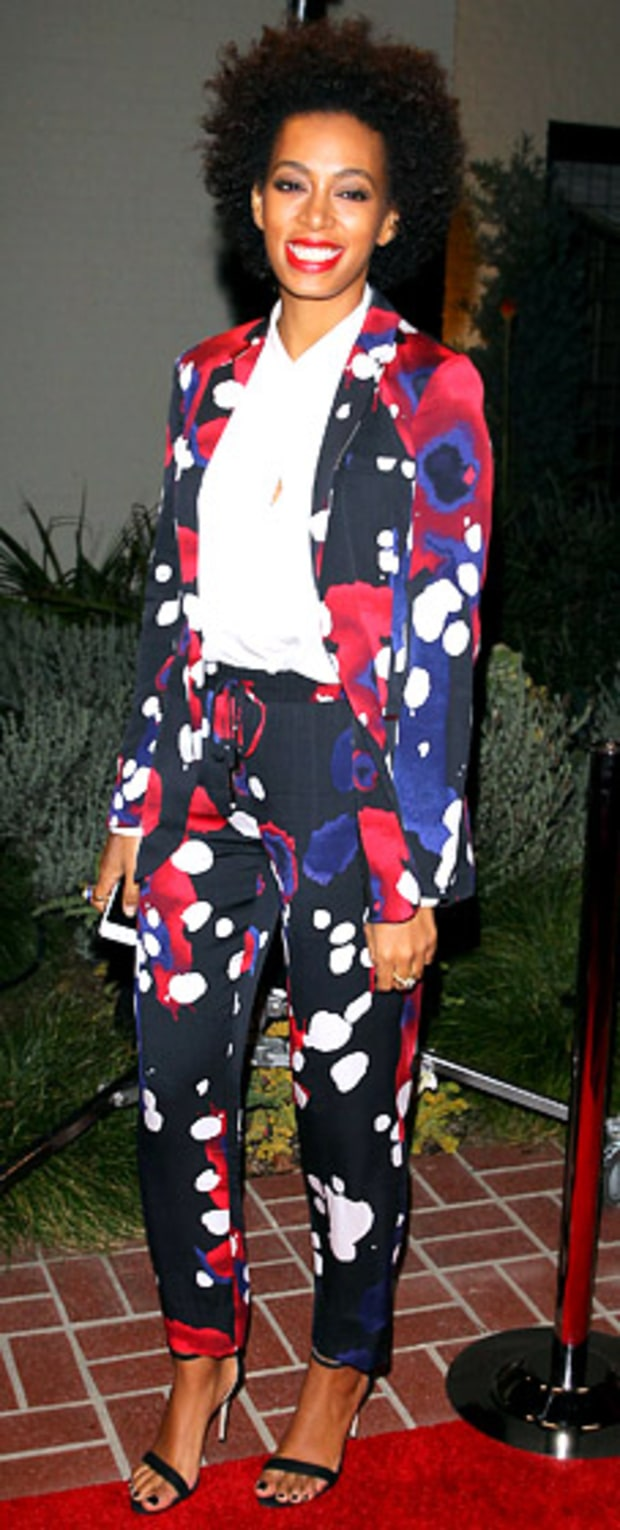 Solange Knowles: Delta Airlines Grammy Week LA Music Industry Reception