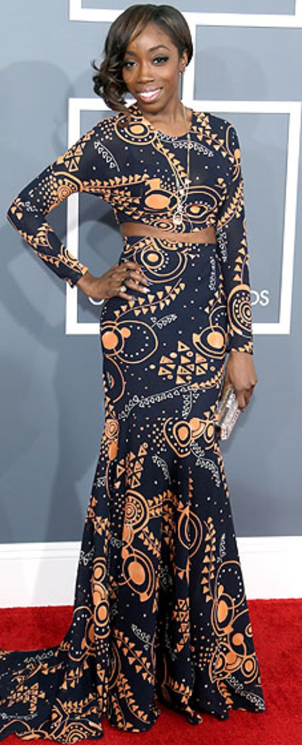 Estelle at the 2013 Grammys