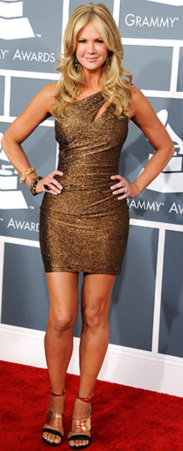 Nancy O'Dell at the 2013 Grammy Awards