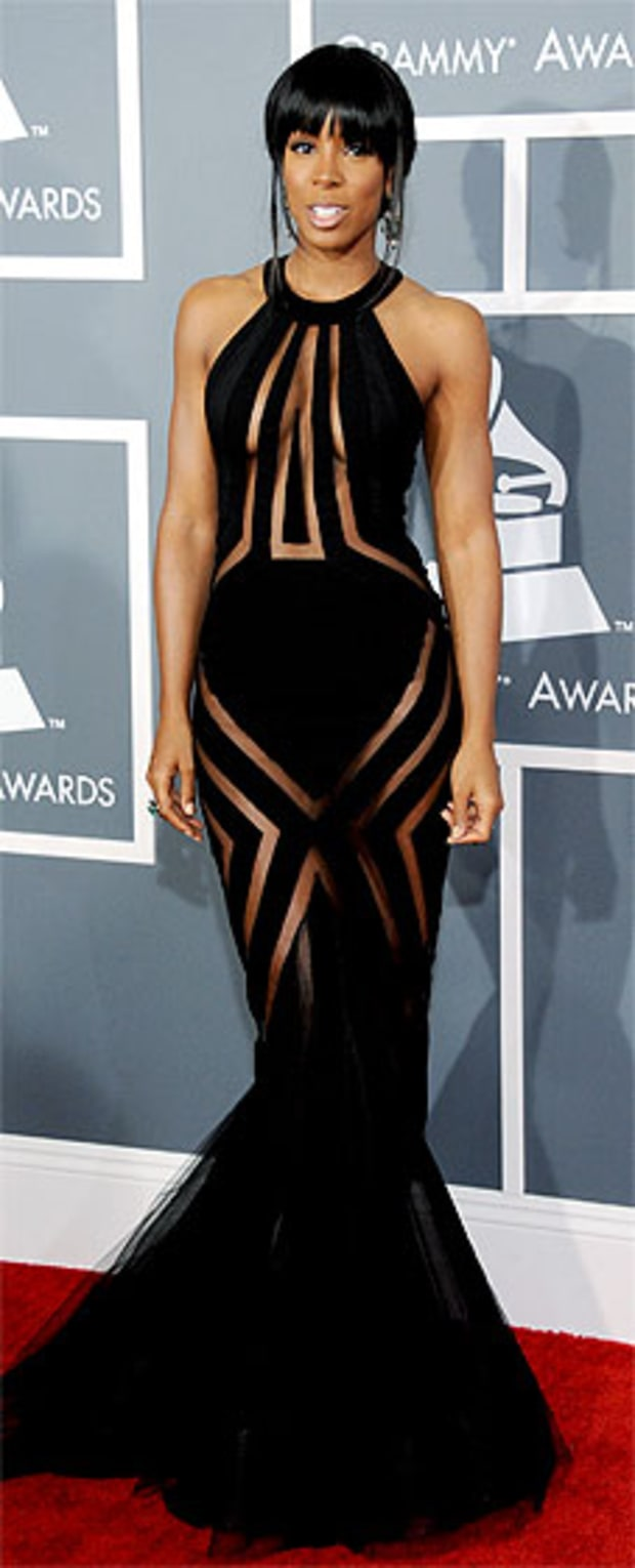Kelly Rowland at the 2013 Grammy Awards