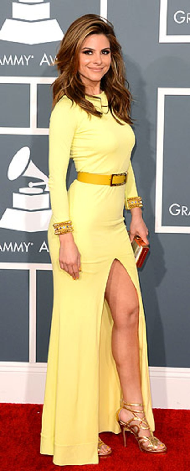 Maria Menounos at the 2013 Grammy Awards