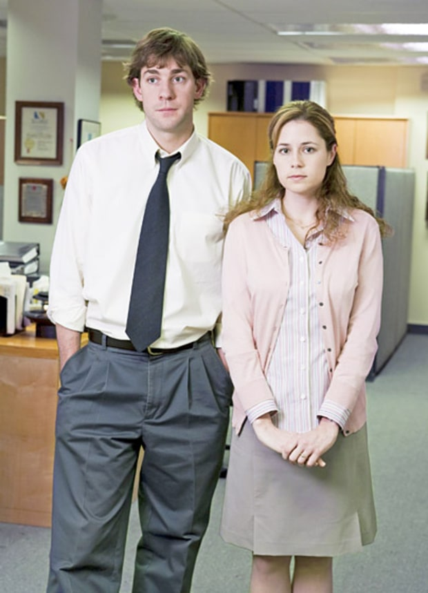 Jim Halpert and Pam Beesly