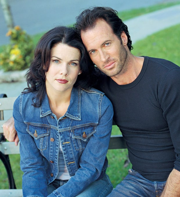 Lorelai Gilmore and Luke Danes