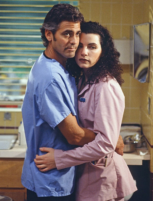 Dr. Doug Ross and Carol Hathaway