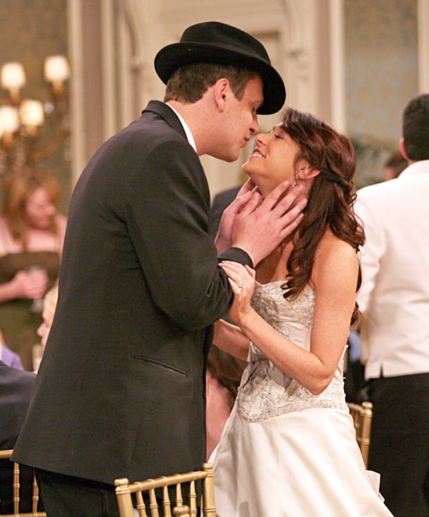 Marshall Eriksen and Lily Aldrin
