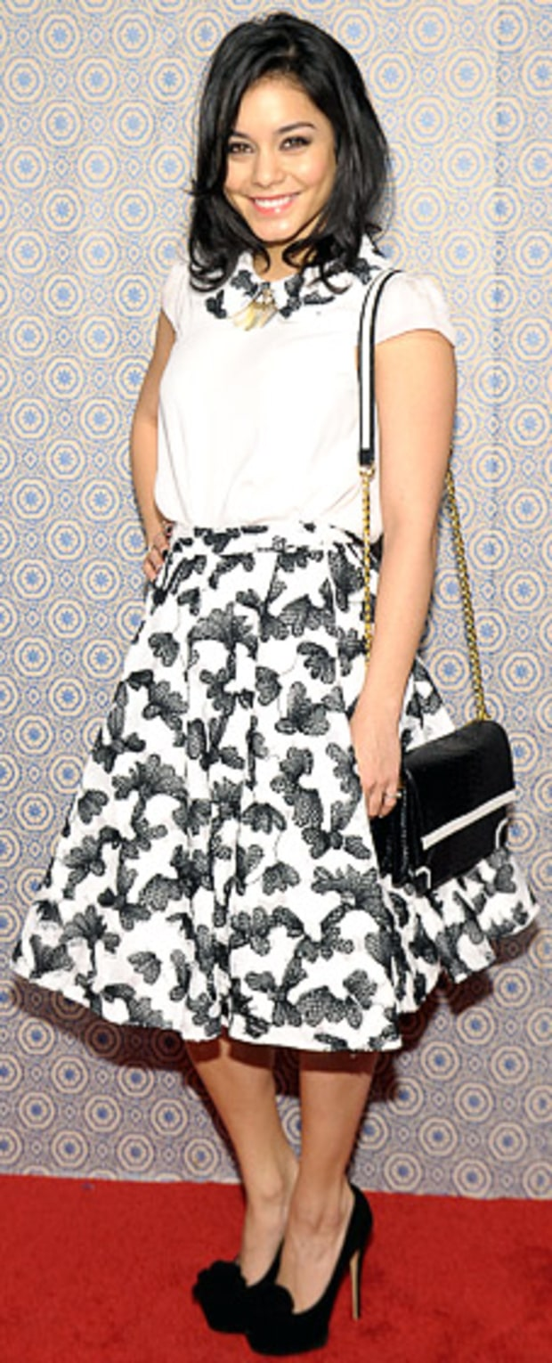 Vanessa Hudgens: Alice + Olivia Fashion Show
