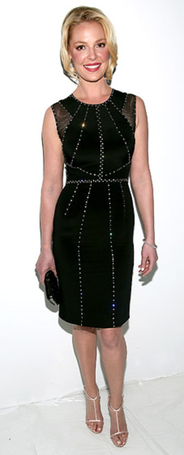 Katherine Heigl: TRESemme at Jenny Packham Fashion Show