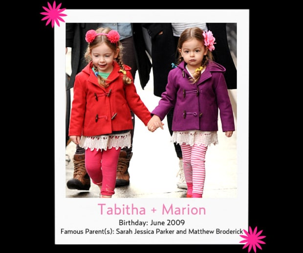 Tabitha and Marion
