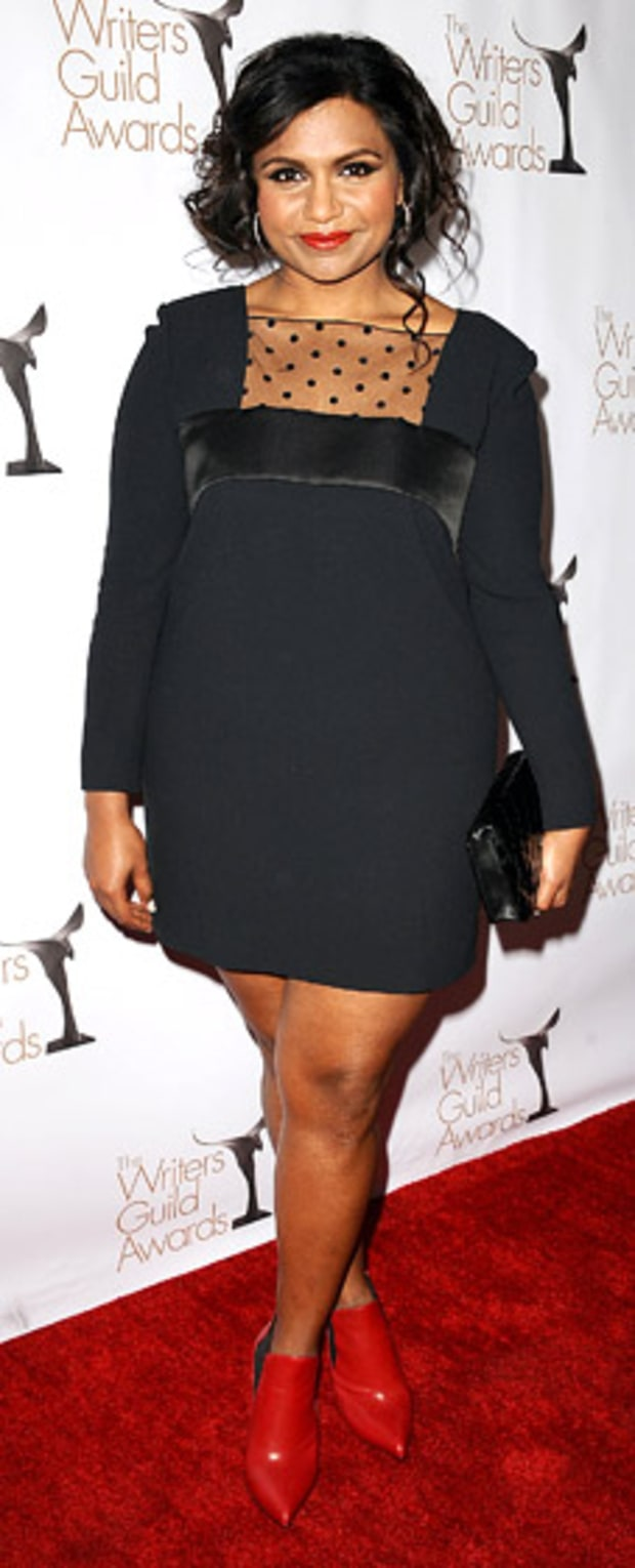 Mindy Kaling: 2013 Writer's Guild Awards