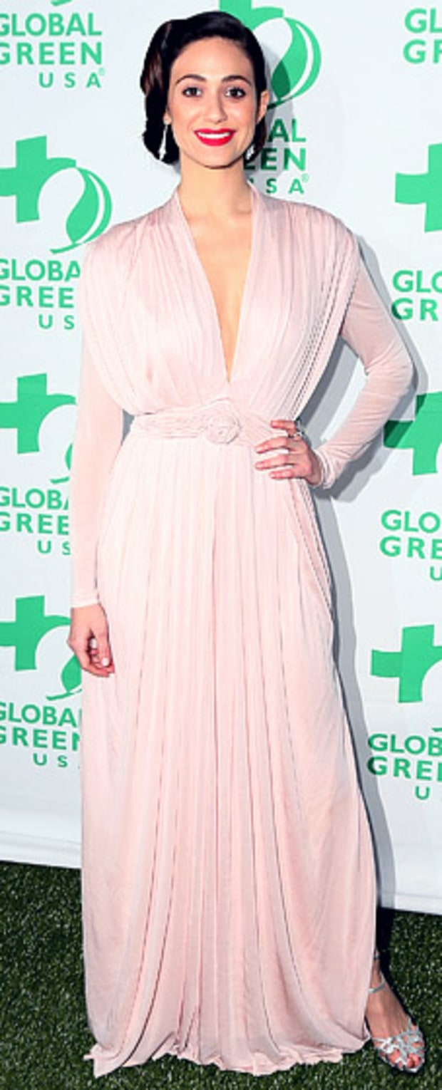 Emmy Rossum: Global Green USA's 10 Annual Pre-Oscar Party