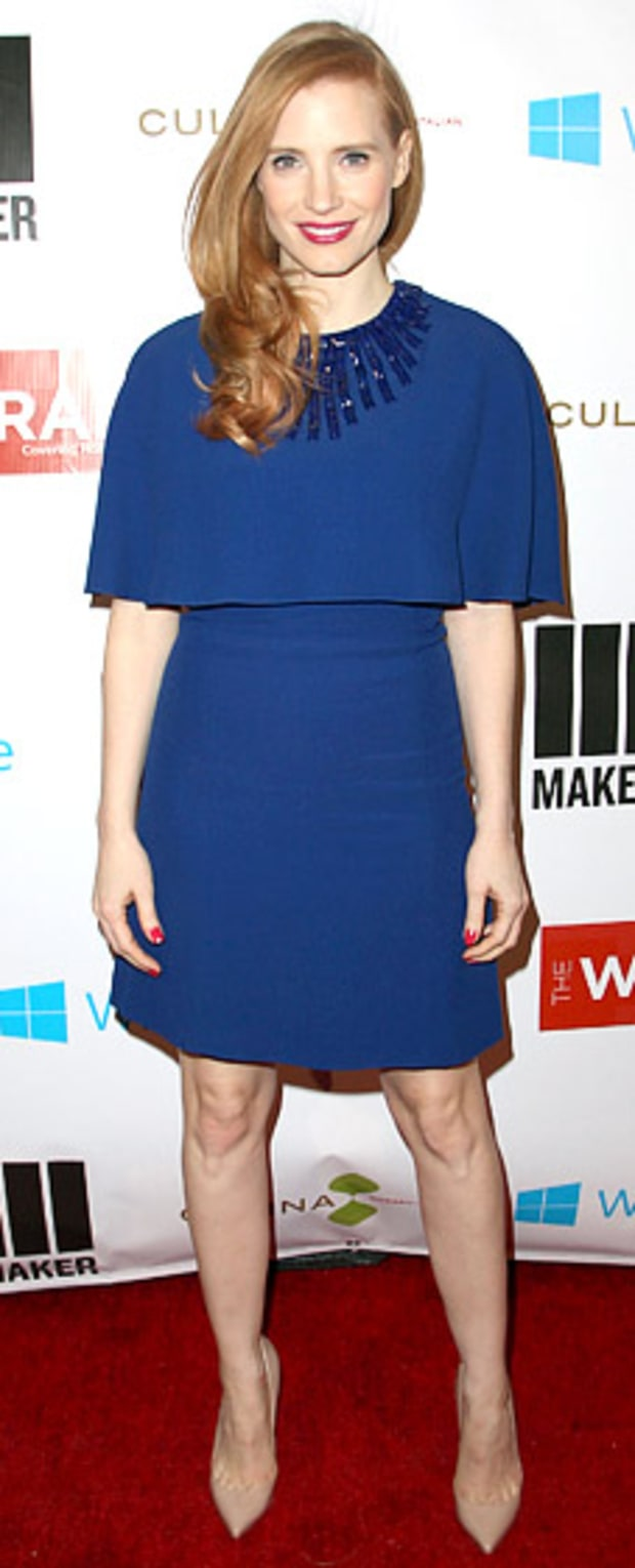 Jessica Chastain: TheWrap 4th Annual Pre-Oscar Party