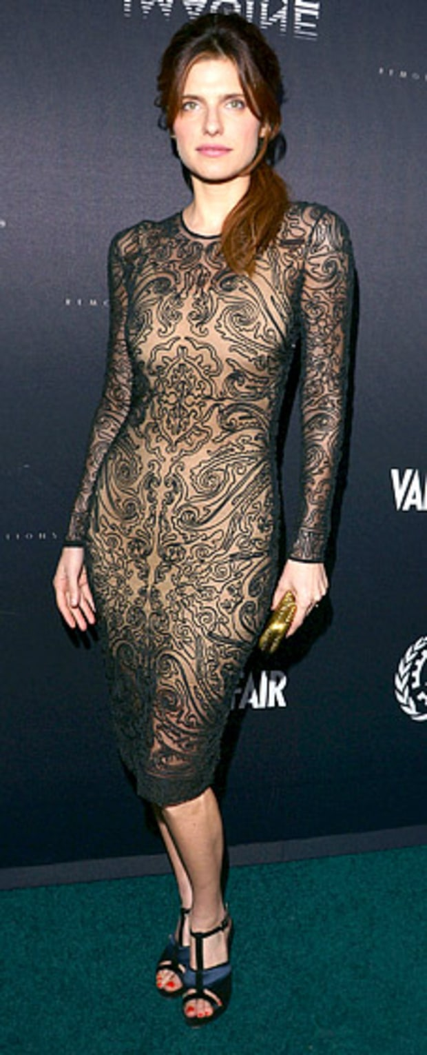 Lake Bell: Vanity Fair and the Fiat Brand Celebration of Una Notte Verde