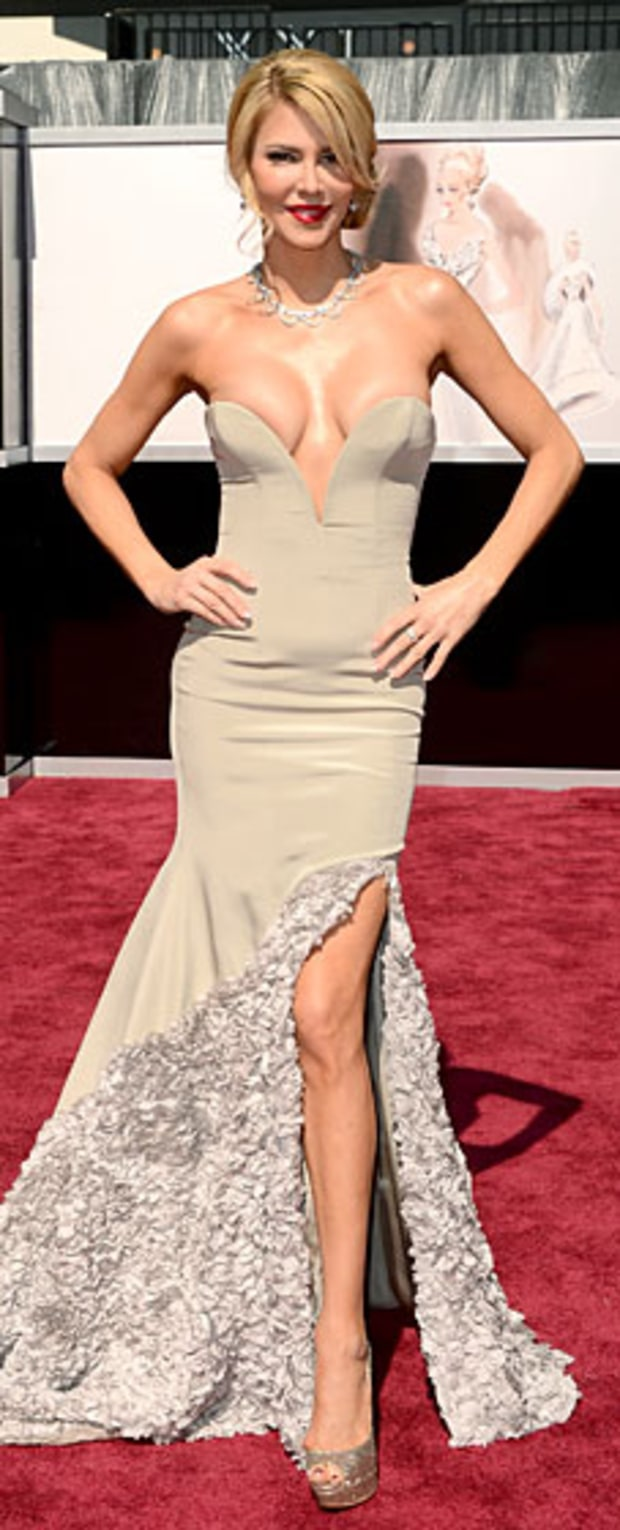 Brandi Glanville at the 2013 Oscars