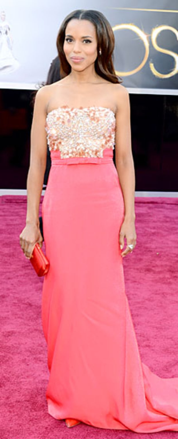Kerry Washington at the 2013 Oscars