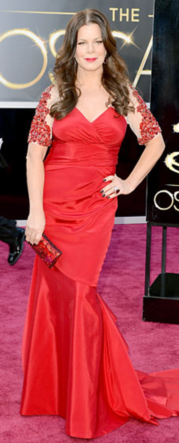 Marcia Gay Harden at the 2013 Oscars