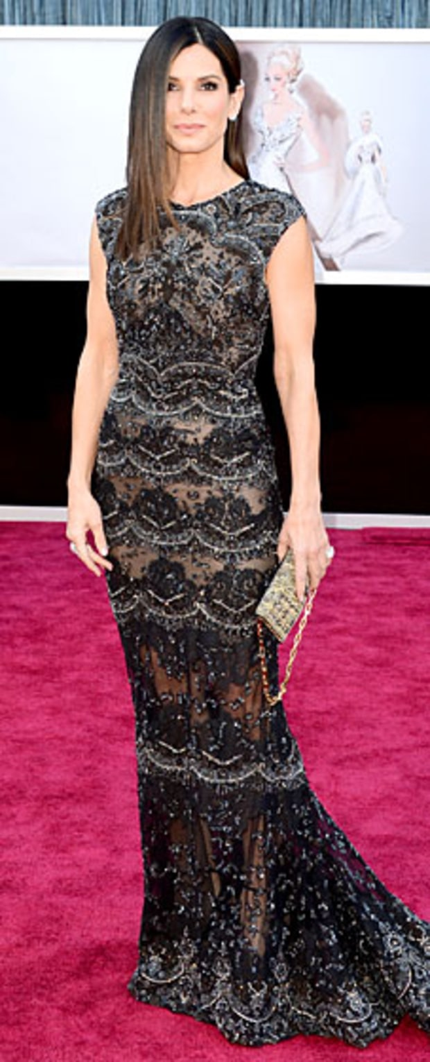 Sandra Bullock at the 2013 Oscars