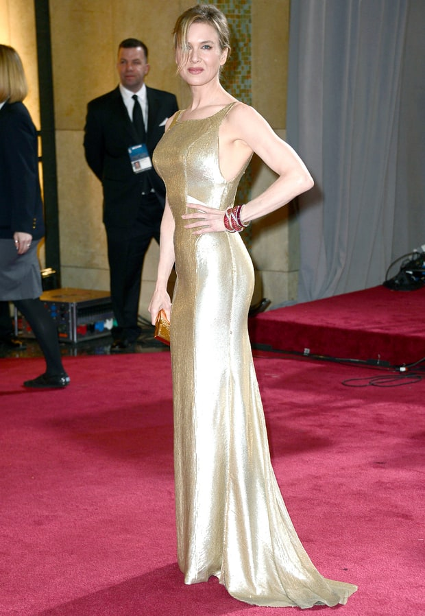 Renee Zellweger | Oscars: See What the Stars Wore! | Us Weekly