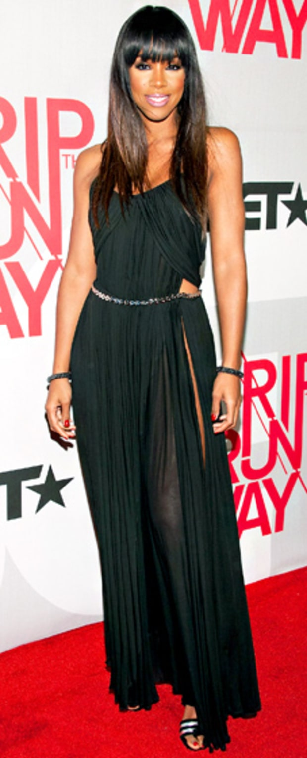 Kelly Rowland: BET's Rip the Runway 2013: Red Carpet