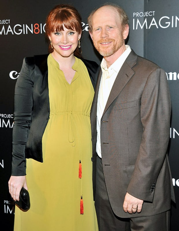 Ron and Bryce Dallas Howard