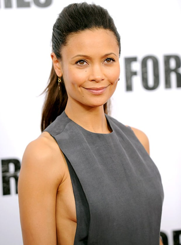 Thandie Newton Stars Who Ve Flashed Sideboob On The Red