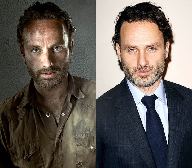 Andrew Lincoln | The Walking Dead Cast: What They Look ... Линкольн Фильм Актеры