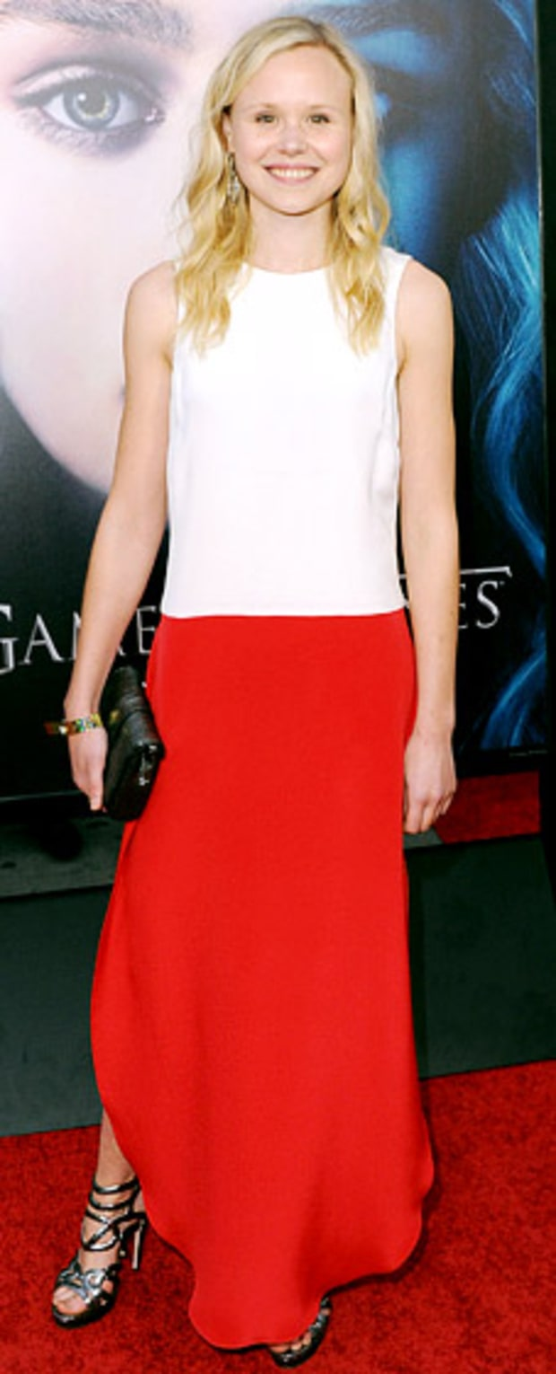 Alison Pill: Game of Thrones Season 3 Premiere