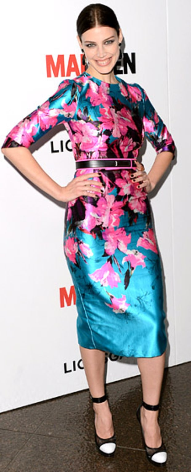 Jessica Pare: Mad Men Season 6 Premiere