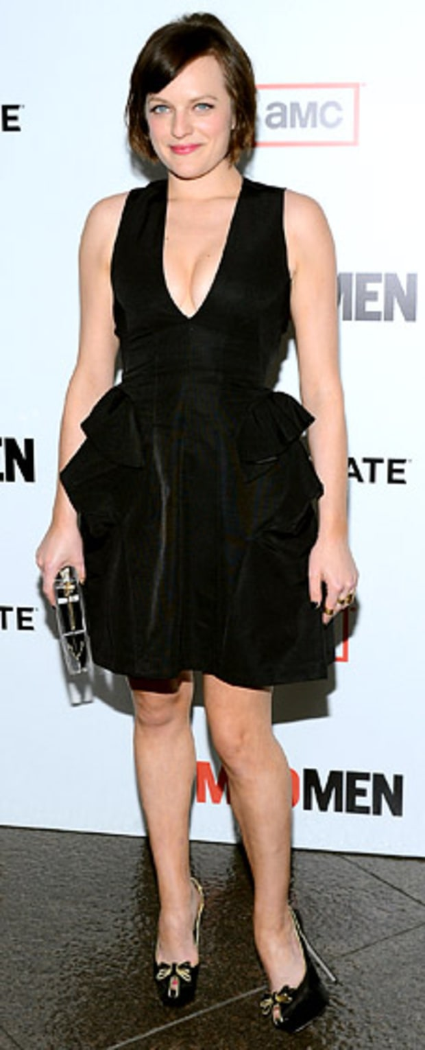 Elisabeth Moss: Mad Men Season 6 Premiere