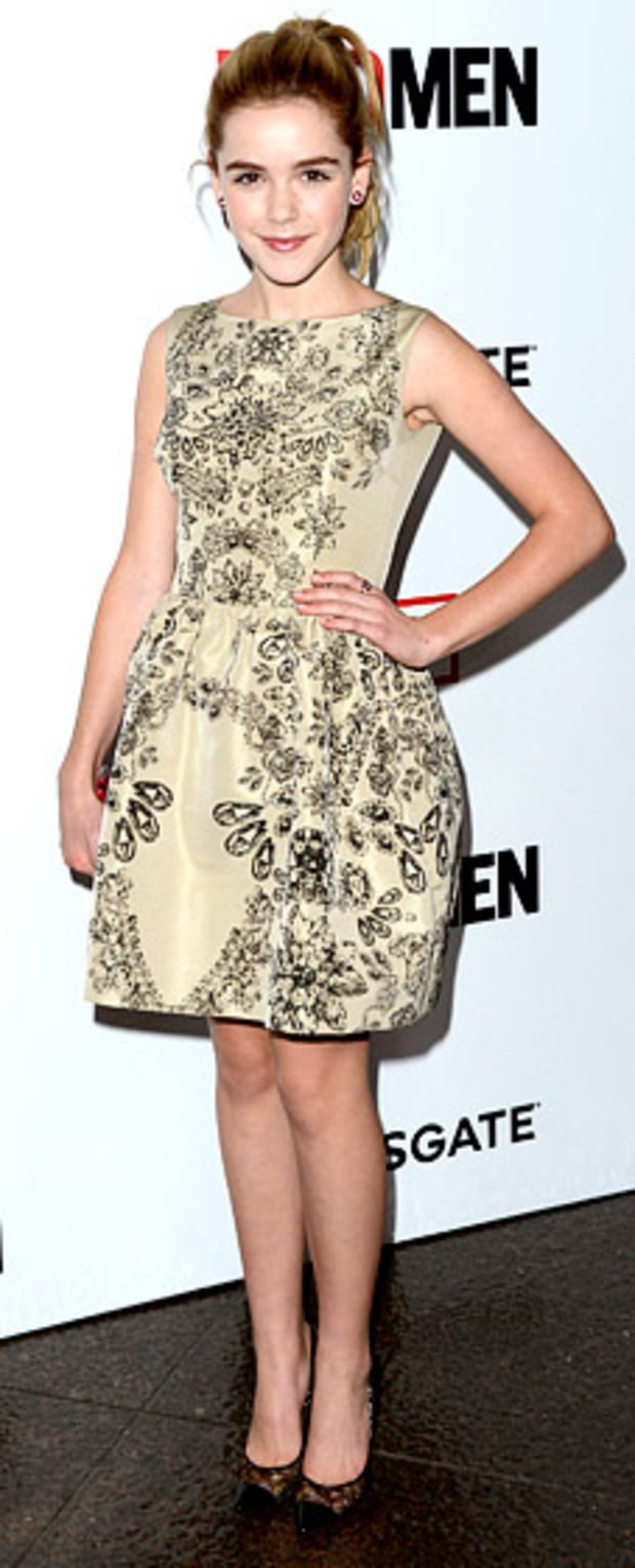 Kiernan Shipka: Mad Men Season 6 Premiere