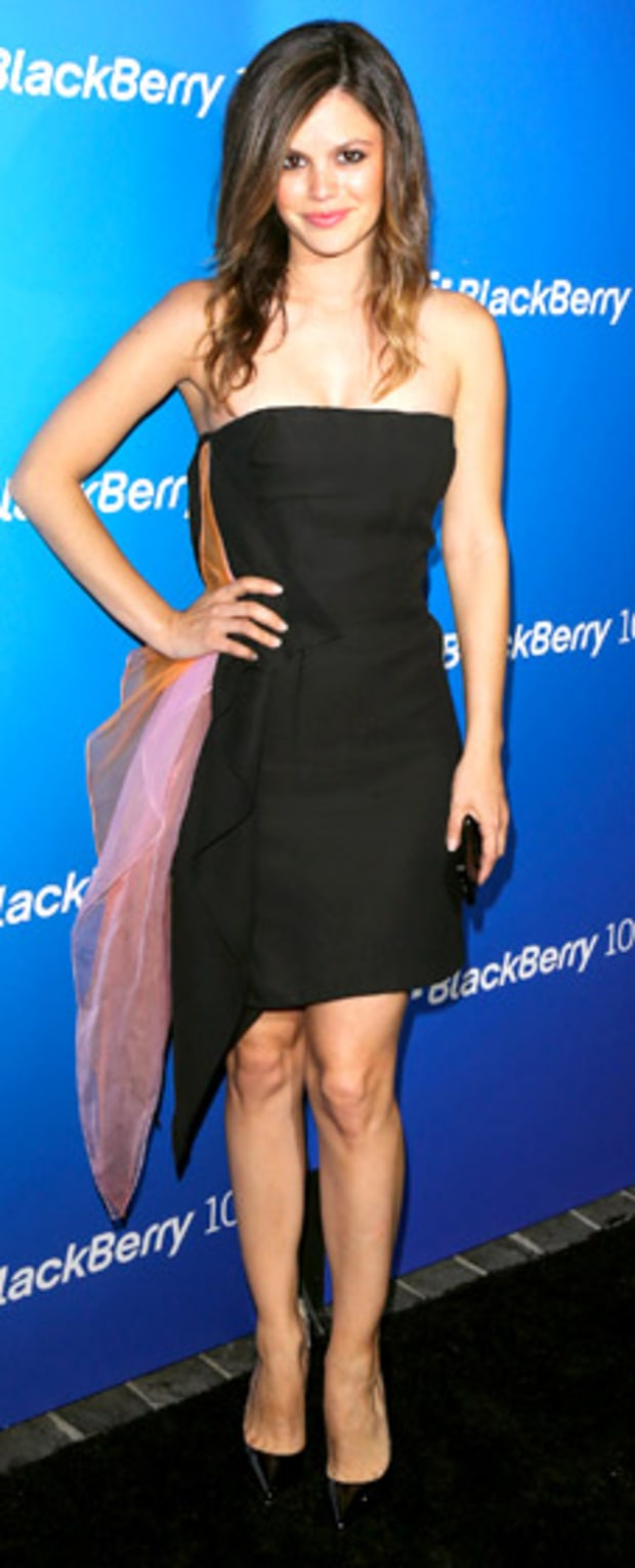 Rachel Bilson: BlackBerry Z10 Smartphone Launch