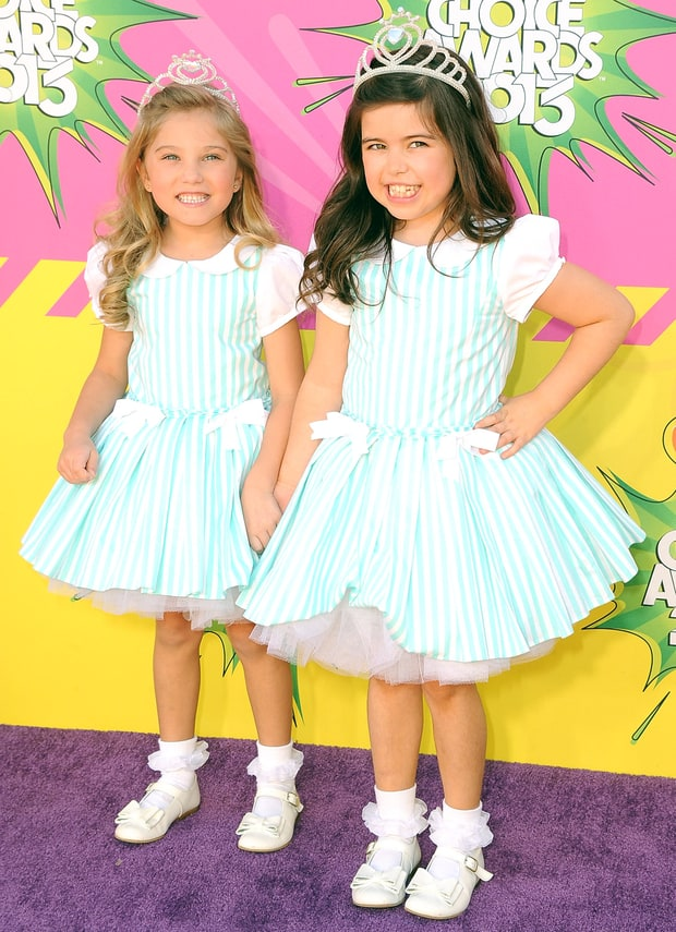Rosie and Sophia Grace
