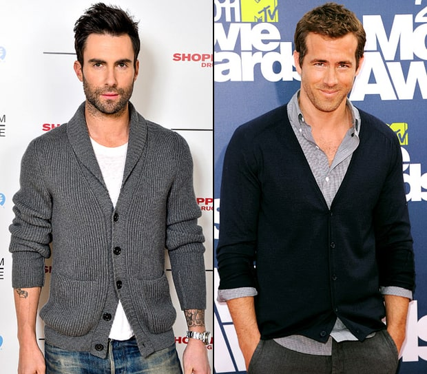 Adam Levine and Ryan Reynolds