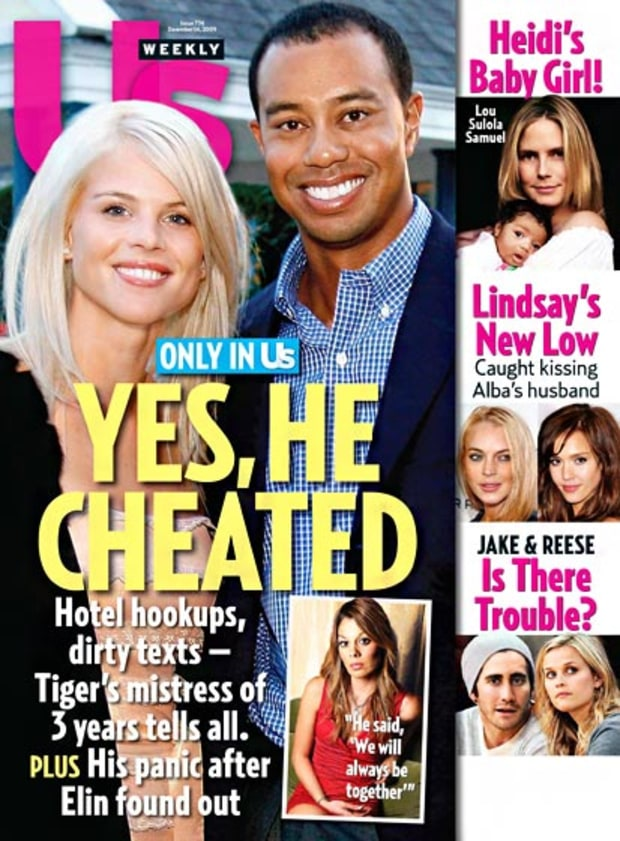 December 14, 2009: Yes, He Cheated