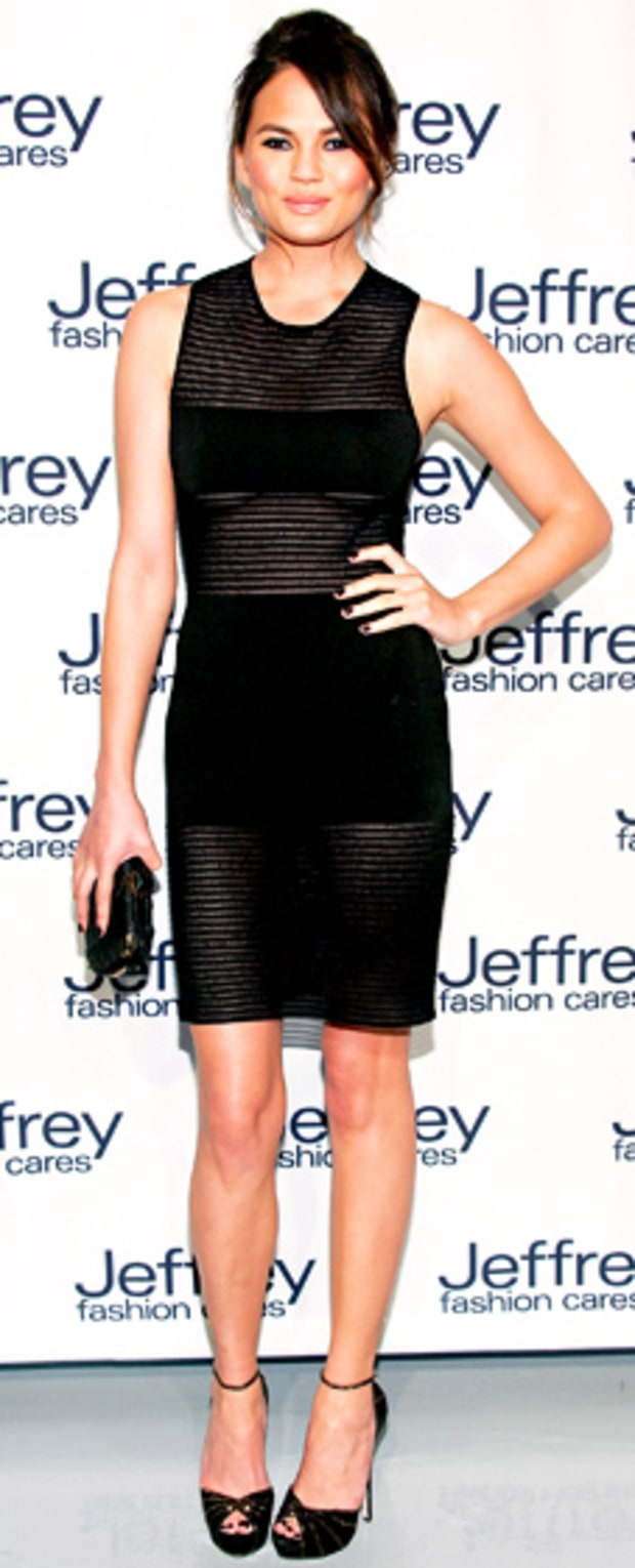 Christine Teigen: Jeffrey Fashion Cares 10th Anniversary Celebration