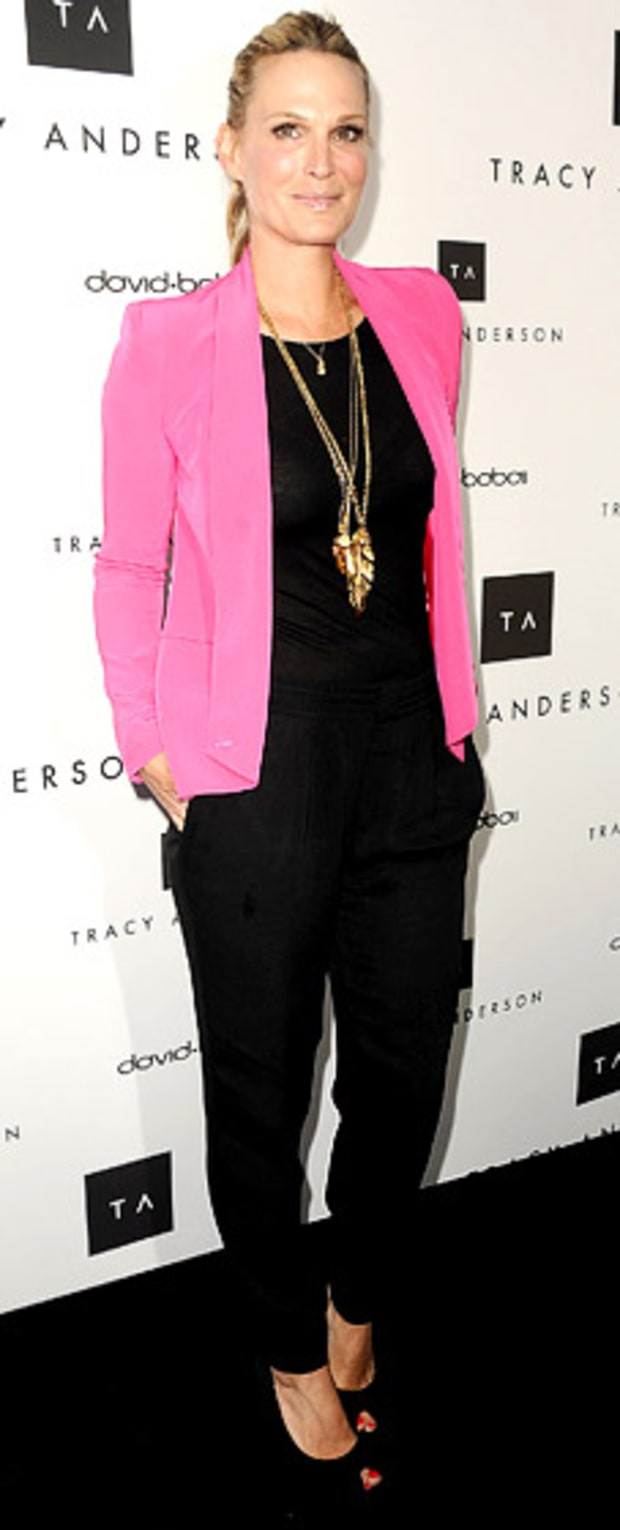 Molly Sims: Opening of Tracy Anderson Flagship Studio