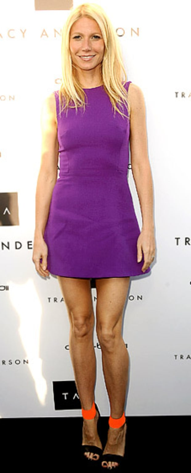 Gwyneth Paltrow: Opening of Tracy Anderson Flagship Studio