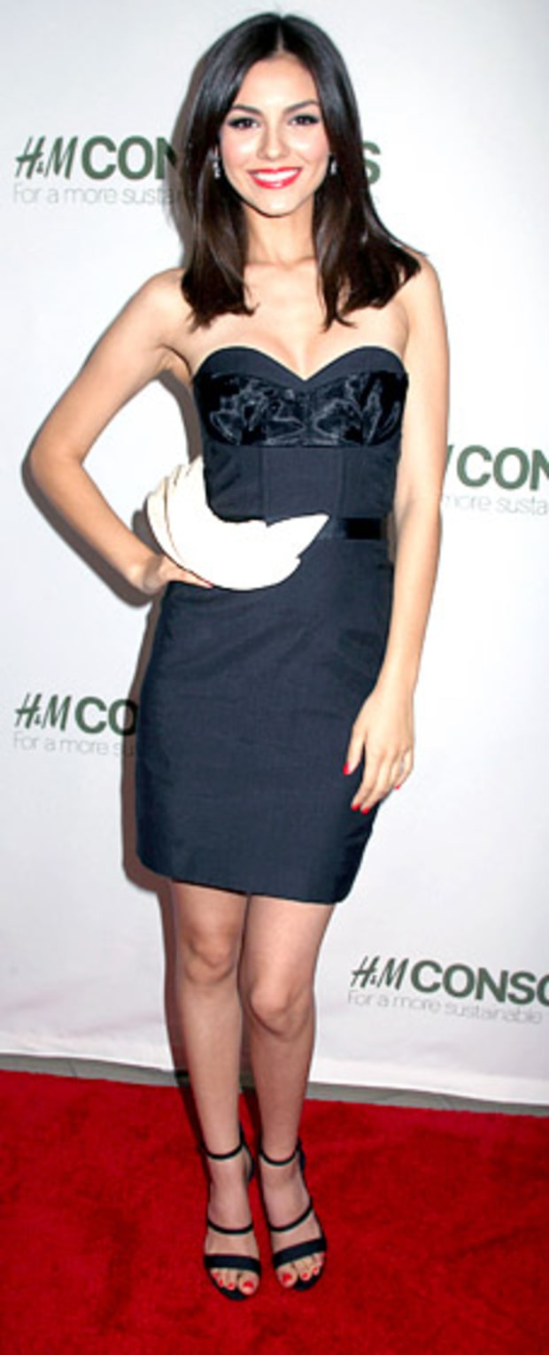 Victoria Justice: H&M's Conscious Exclusive Collection Launch Party
