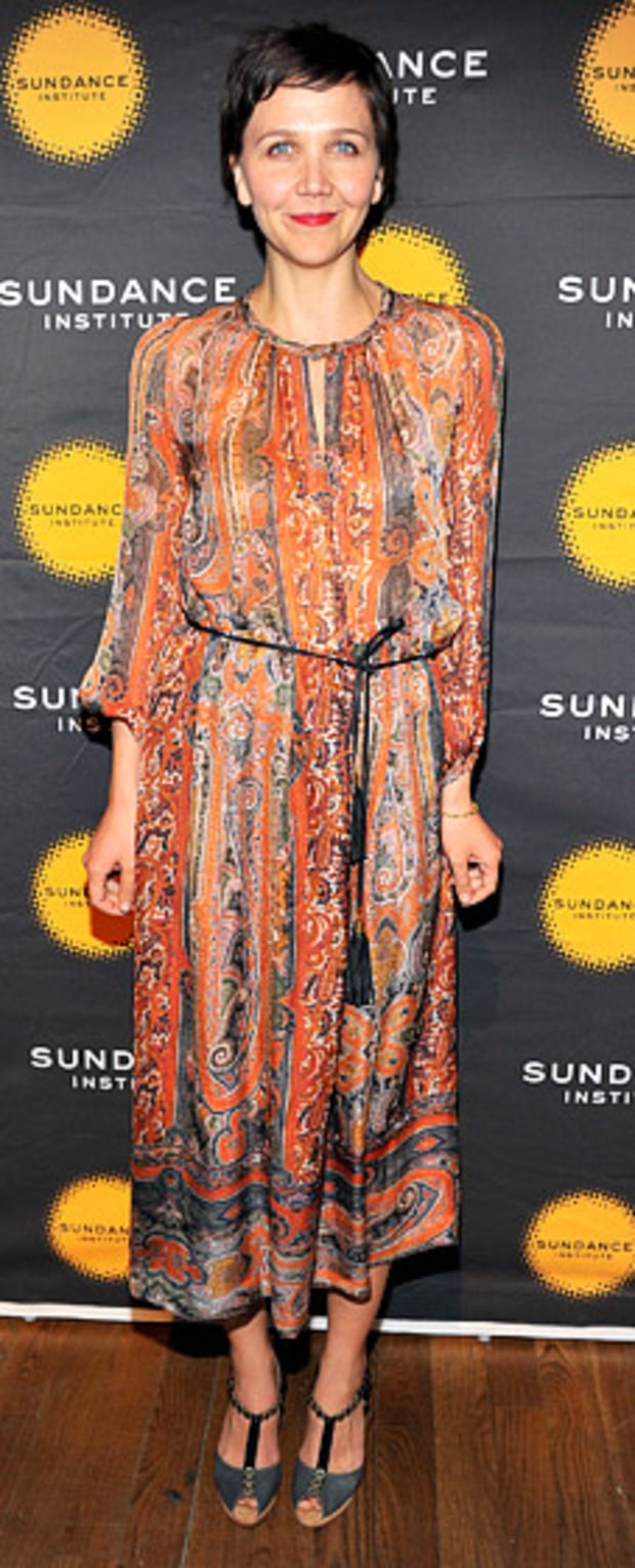 Maggie Gyllenhaal: The 2013 Sundance Institute Theatre Program Benefit