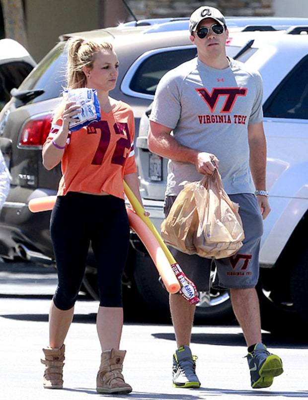 Britney Gets Sporty