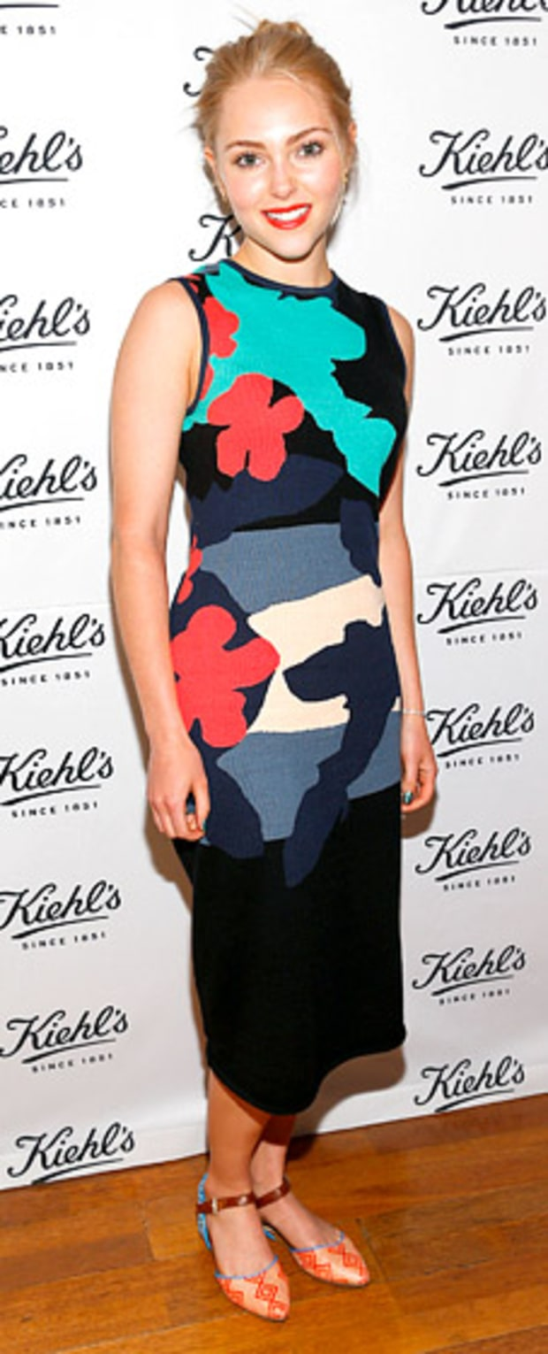 AnnaSophia Robb: Kiehl's Launch of an Environmental Partnership Benefiting Recycle Across America