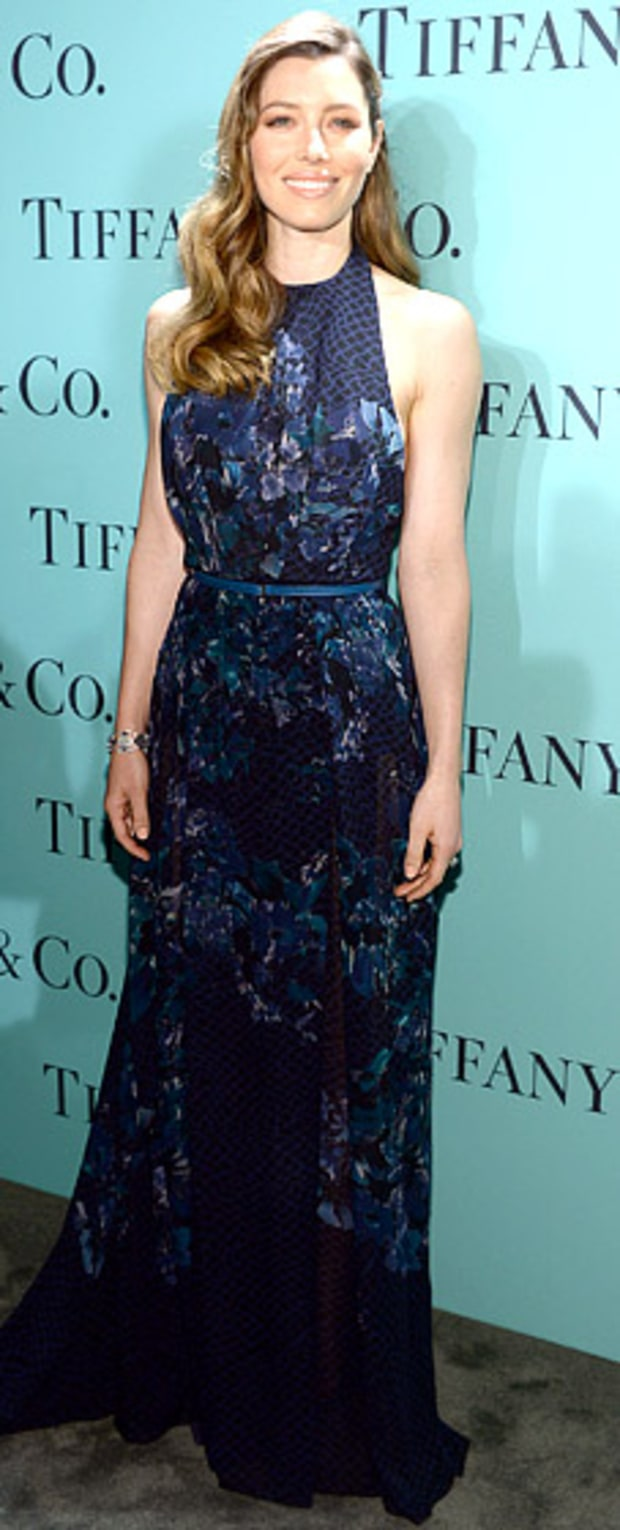 Jessica Biel: TIffany & Co. Blue Book Ball