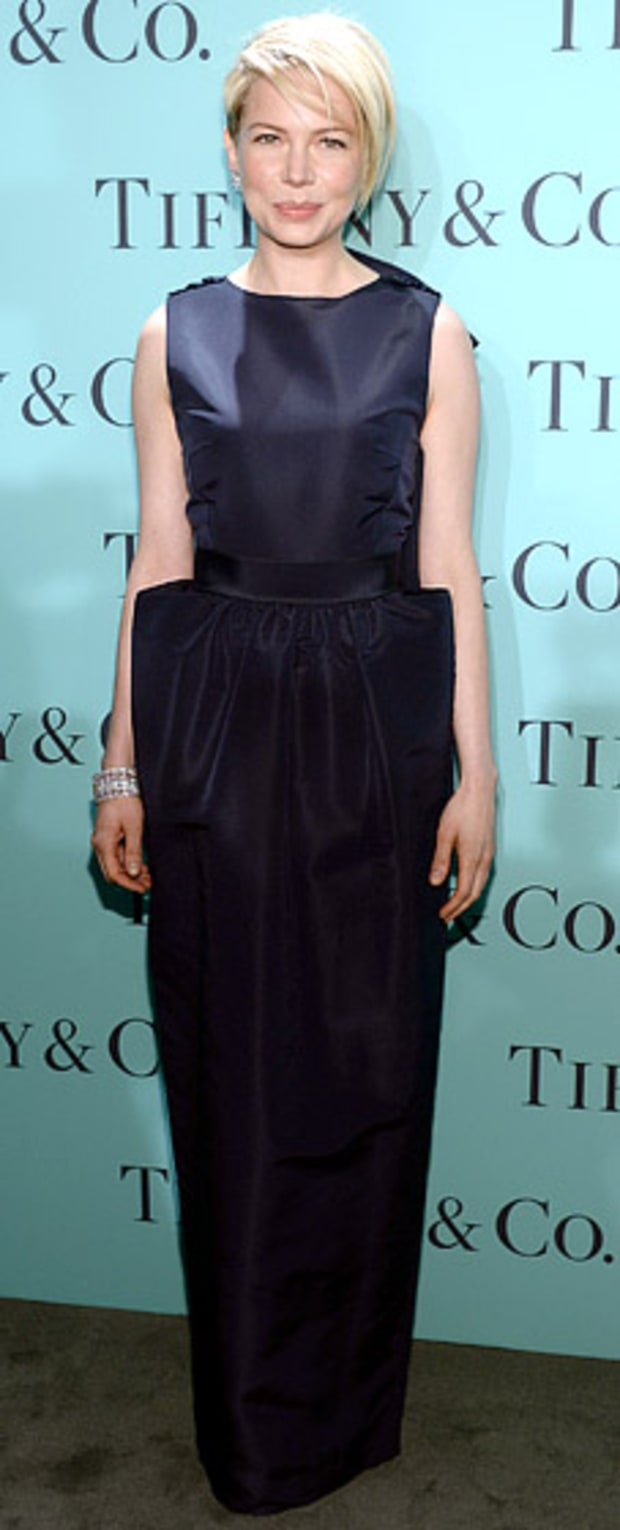 Michelle Williams: TIffany & Co. Blue Book Ball