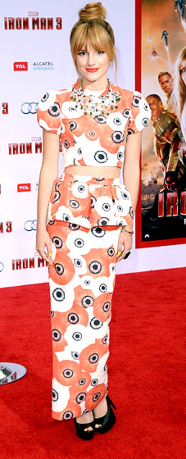 Bella Thorne: Iron Man 3 premiere