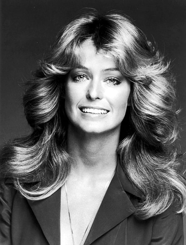Fabulous Farrah Fawcett 25 Most Iconic Hairstyles Of All Time Us Weekly Short Hairstyles For Black Women Fulllsitofus