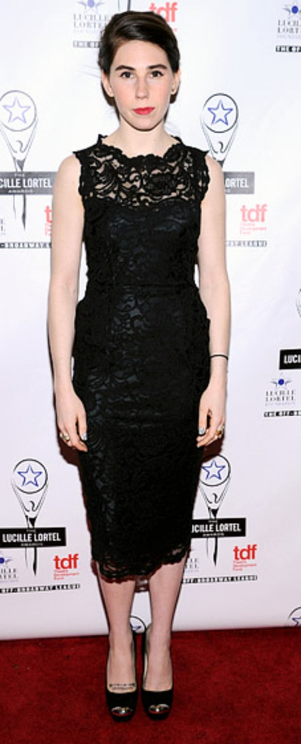 Zosia Mamet: 28th Annual Lucille Lortel Awards