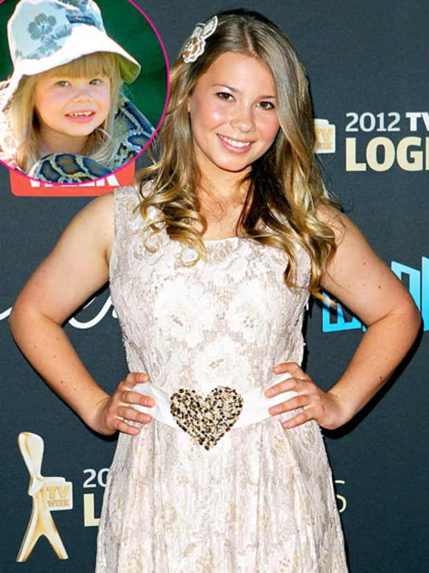 Bindi Irwin (Steve and Terri Irwin)