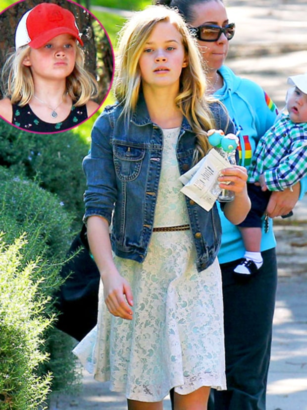 Ava Phillippe (Reese Witherspoon and Ryan Phillippe)