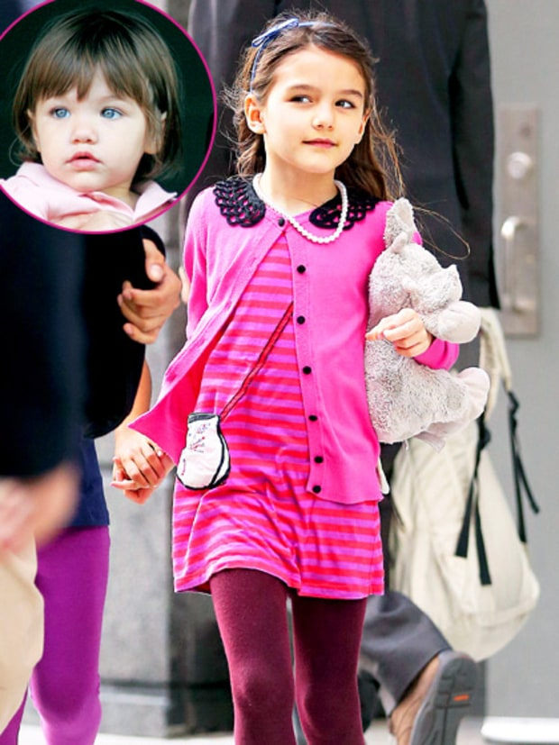 Suri Cruise (Tom Cruise and Katie Holmes)