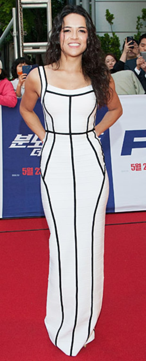 Michelle Rodriguez: Fast & Furious 6 South Korea Premiere