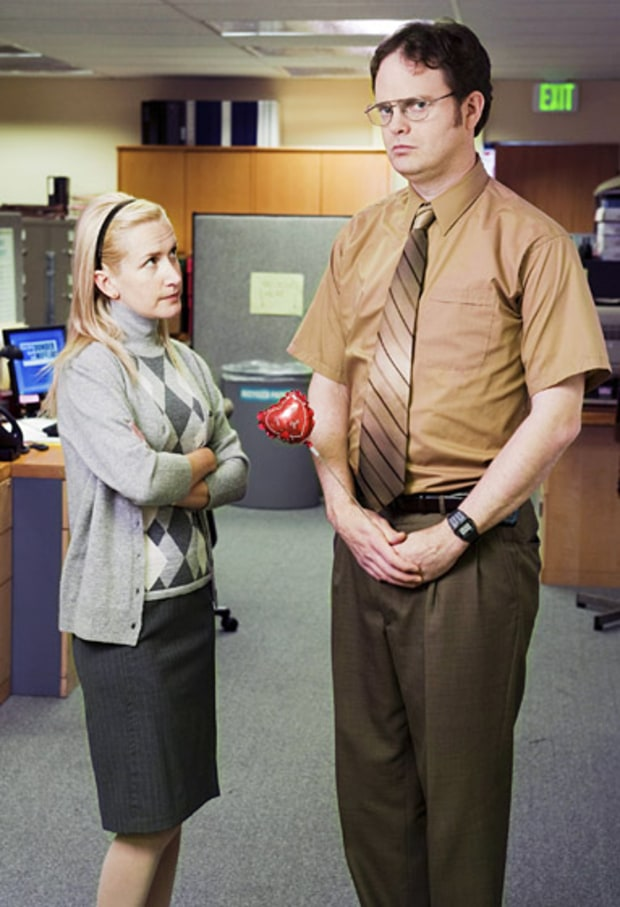 Angela Martin and Dwight Shrute
